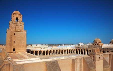 kairouan: Great Mosque of Kairouan, Tunisia