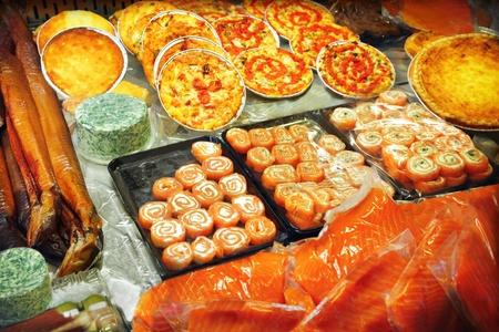 A variety of fish at a market Stock Photo - 13785528
