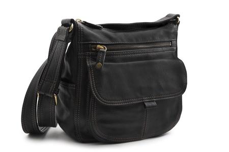 messenger: Handbag isolated on white background