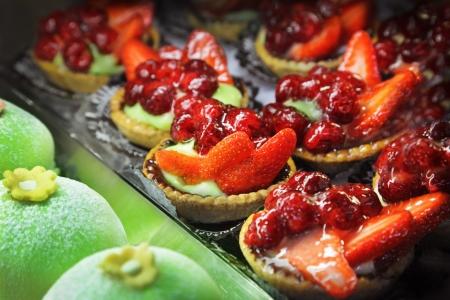 Close up of fruit cakes Stock Photo - 13969087
