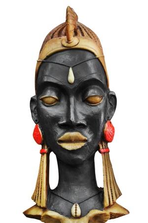 arte africano: M�scara africana Foto de archivo