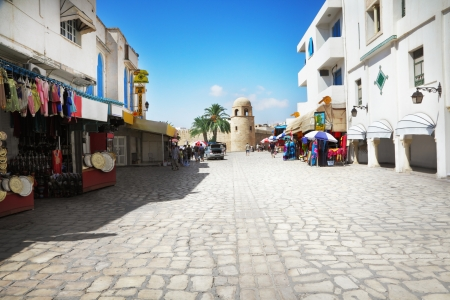 market place: Street in Sousse, Tunisia