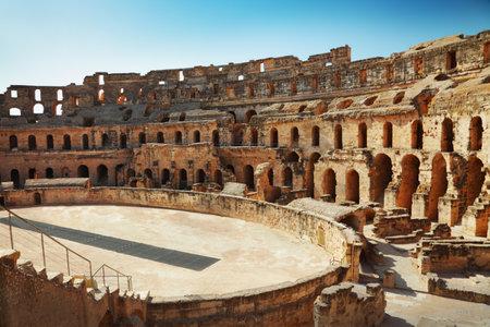 amphitheater: Amphitheater in El Jem, Tunisia
