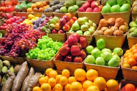 Frisches Obst auf einem Markt
