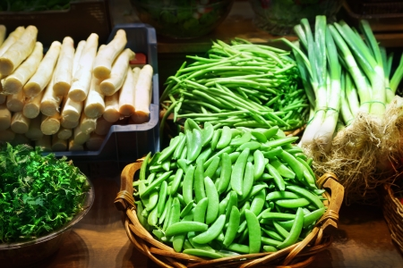 Vegetables at a market stall Stock Photo - 16240111