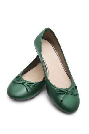 Shoes on white background photo