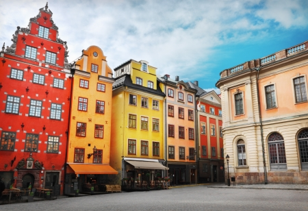 Stortorget place in Gamla stan, Stockholm photo