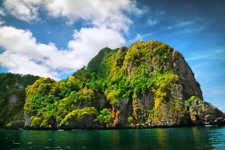 rock formation: Rock formation and sea, Thailand