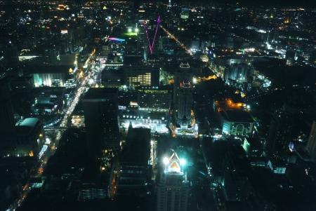 nightfall: Bangkok at night Stock Photo