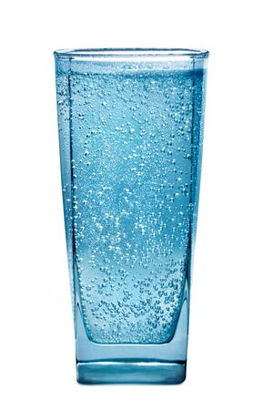 fizzy: Glass of water