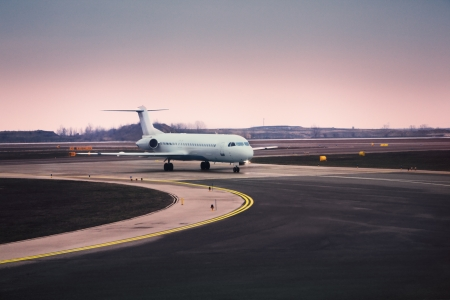 off day: Airplane at airport