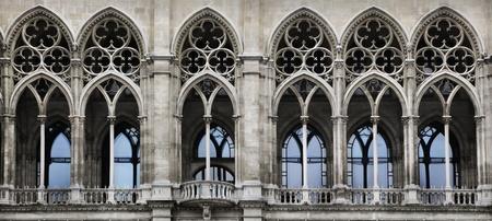 neo gothic: Gothic arch Stock Photo