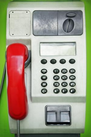 cabina telefonica: Tel?fono p?blico Foto de archivo