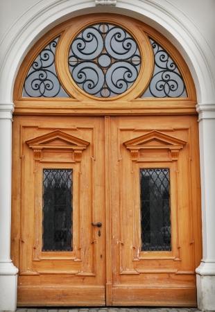 wood carving door: Old door