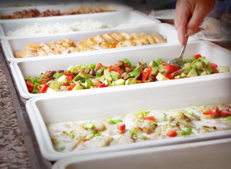 Buffet trays
