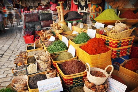 grand sale: Spices for sale at the bazaar Stock Photo