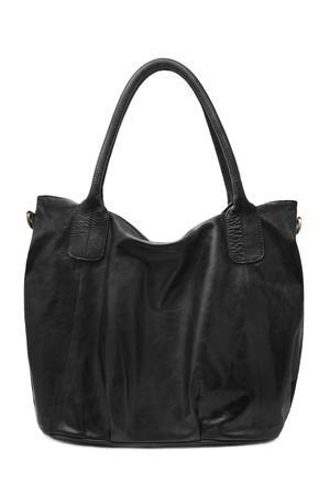 Handbag isolated over white background photo