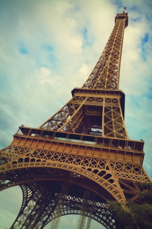 The Eiffel Tower in Paris Stock Photo - 21920063