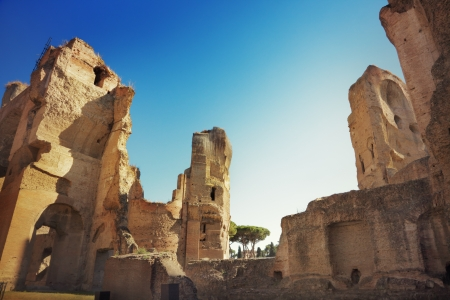 Thermae of Caracalla, Rome, Italy Stock Photo - 22303982