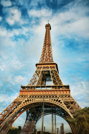 The Eiffel Tower in Paris Stock Photo - 22304038