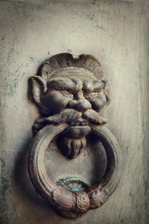 Old Door Knocker From Italy Stock Photo   22304091