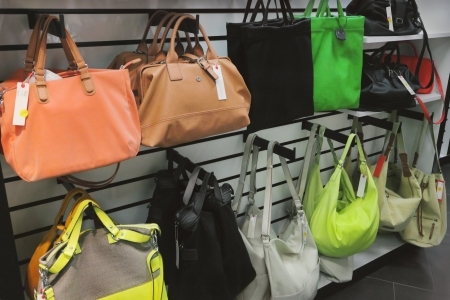 Bags in store