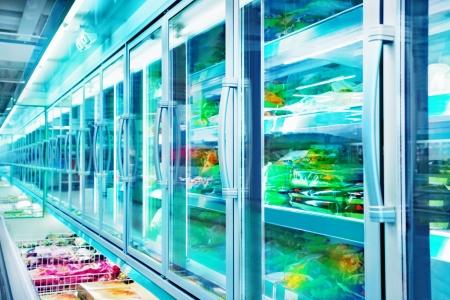 refrigerator: Supermarket