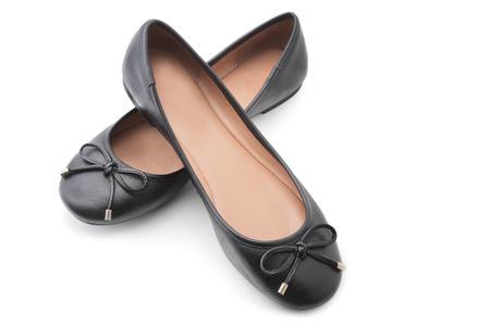 zapatillas ballet: Zapatos en el fondo blanco