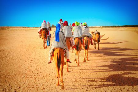 サハラ砂漠の人々