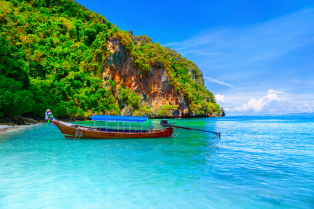 longtail: Longtail Boat - Koh PhiPhi Island, Thailand