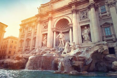 ローマのトレビの泉 写真素材