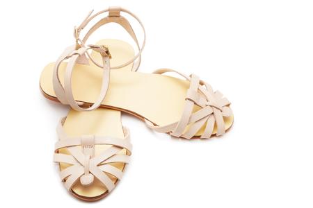 heel strap: Sandals