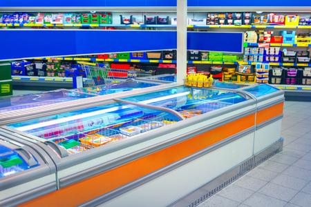 refrigerador: Supermercado