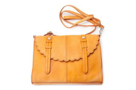 hobo: Handbag isolated over white background Stock Photo