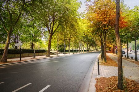 old city: Street in Paris Stock Photo
