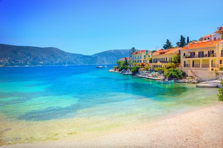 kefallonia: Fiskardo village, Kefalonia island, Greece