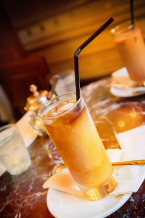 fredo: Cold coffee Stock Photo