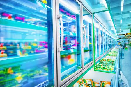 alimentos congelados: Supermercado