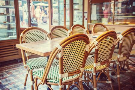 bistro cafe: Paris cafe Stock Photo