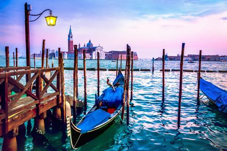 venice gondola: Venice