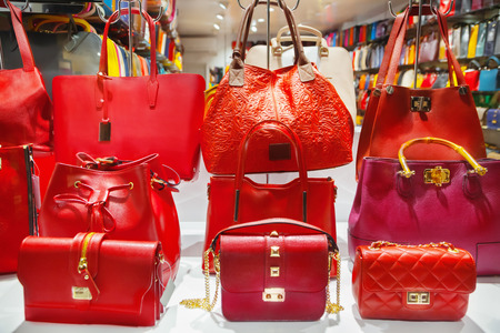 dc5a3e2509b1  51057261 - Bags. Similar Images. Add to Likebox. Woman mannequin in luxury  clothes shop Stock Photo