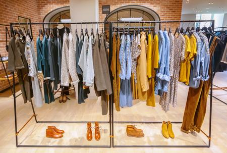show case: Clothes