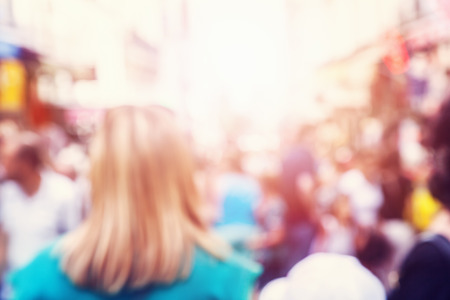 multitud gente: Multitud de personas