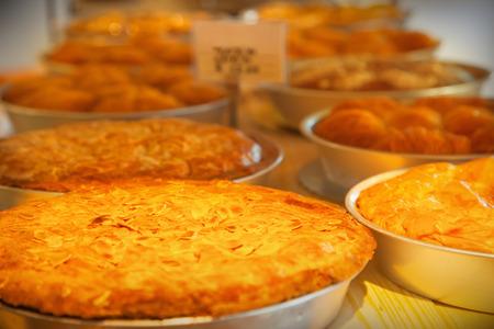 custard slices: Pie