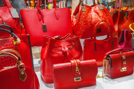 red hand: Bags