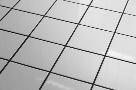tile background: White tiles