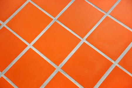 tiled: Ceramic tiled floor Stock Photo
