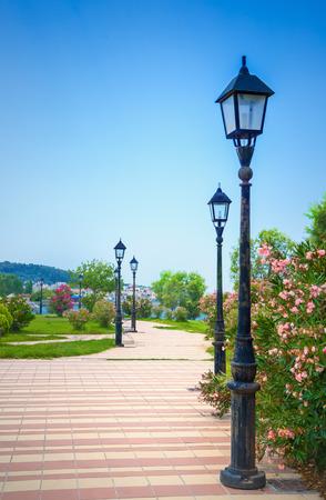 alley: City park