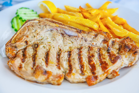 Fried steak
