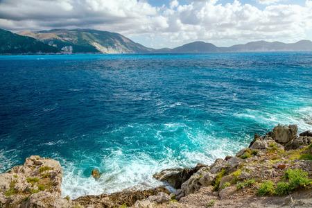kefallonia: Sea landscape